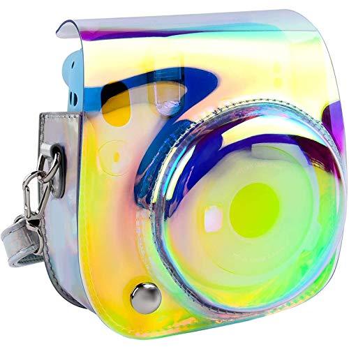 Funda y Funda Portátil Compatible con Fujifilm Instax Mini 11 Cámara instantánea con Bolsa de Accesorios y Correa Ajustable