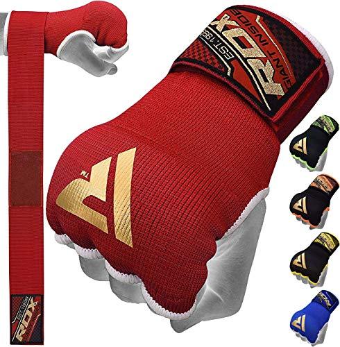 RDX Boxing Hand Wraps Inner Gloves, Quick 75cm Long Wrist Straps,...