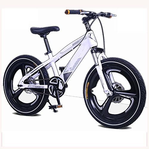COUYY Bicicletas Doble Disco Frenos Frente suspensión de la suspensión Aleación de magnesio Bicicletas para niños para niños 5-14 años de edad16 18'20' Velocidad de una Sola,18