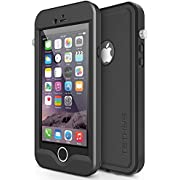 Tethys Protective Slim Waterproof Case with a Built-in Screen Protector for iPhone 6 Plus