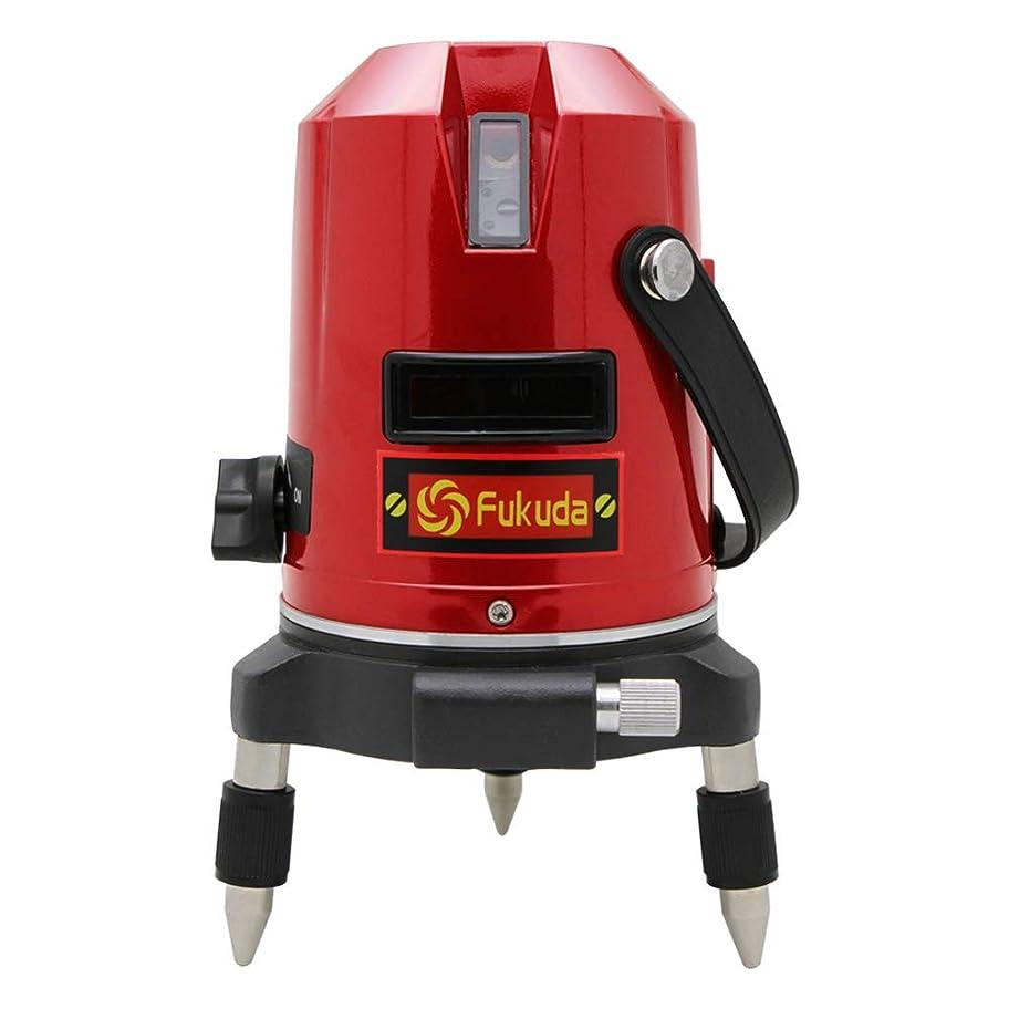 FUKUDA 5ライン レーザー墨出し器 EK-453DP 4方向大矩ライン 4垂直?1水平 フクダ 墨出し器 自動補正レーザーレベル レーザーライン 地墨ポイント 水平器