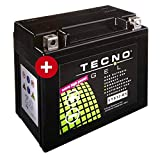 YTX12-BS TECNO GEL-Batterie für VTR 1000 F Fire Storm Baujahr 1997-2000
