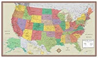 48x78 Huge United States USA Contemporary Elite Wall Map Poster (48x78 PAPER) [並行輸入品]