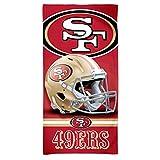 Wincraft NFL San Francisco 49ers 3D Strandtuch 150x75cm -