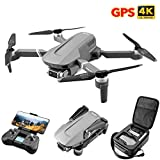 XIAOKEKE GPS Drone with Camera, RC Quadcopter 4K 5G WiFi FPV Transmission Drone for Adults,Beginners,Auto-Return, Follow Me, Orbit Mode, Altitude Hold
