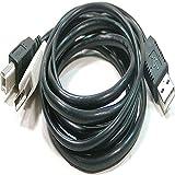 BeMatik - Cable USB 2.0 de Doble alimentación 2AM a BM 3 Metros