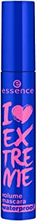 Essence I Love Extreme Volume Waterproof Mascara, Black, 12ml