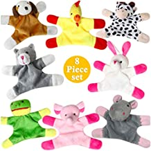Animal Magnets Toy Set for Refrigerator, Fridge and Board Magnets, Plush Animal Toys (8)