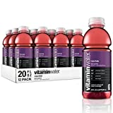 Vitaminwater Revive, Fruit Punch Flavored, Electrolyte Enhanced Bottled Water with Vitamin b5, b6,...