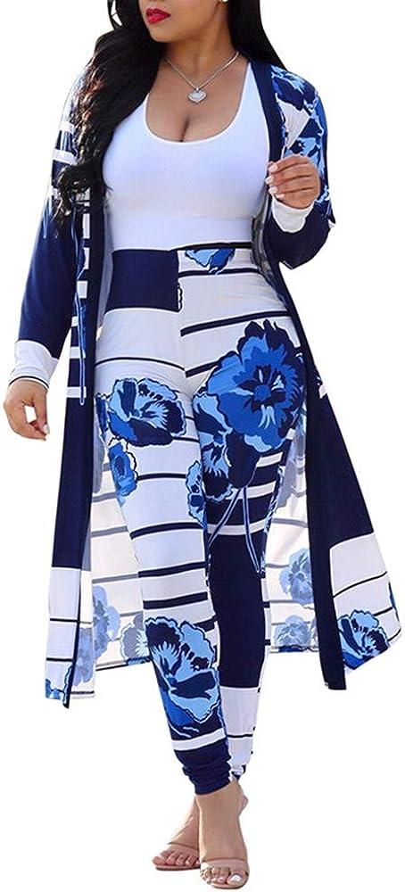 直営限定アウトレット GLUDEAR Women 2 Piece Club Outfits 限定モデル Front Floral Open Long Sleeve