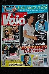VOICI 1293 2012 VANESSA PARADIS COVER + 3 pages Jennifer ANISTON SHY\'M Olivier FOGIEL