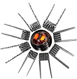 Prebuilt Coils 80 Pcs, Premade Vape Coils A1 with Twisted/Fused/Hive/Quad/Tiger/Alien Clapton, Vaping Coil