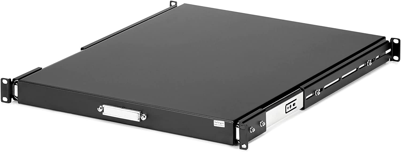StarTech.com 1U Sliding Server Rack Mount Keyboard Shelf Tray - 55lbs - 22