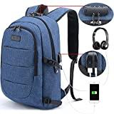 Tzowla Business Laptop Backpack Anti-Theft College Backpack with USB Charging...