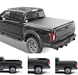 Gevog Soft Roll-Up Truck Bed Tonneau Cover Assembly   1269   Compatible with 2017-2021 Honda Ridgeline