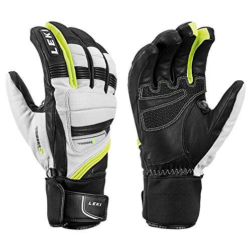 Leki Griffin Prime S Handschuhe (weiß/schwarz), 9.5