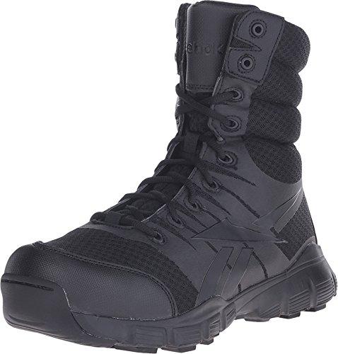 Zapato Reebok Negro Micro Mesh 8in Botas Tã¡cticas Dauntless Suave