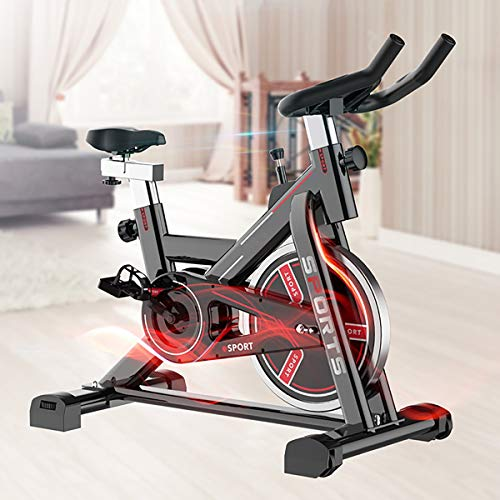 Indoor Bicycles and Fitness Bikes Can be Placed in The Living Room as a Fashion Item, so That Exercise is Not Aerobic at Home, and The Silent Belt Will Not Disturb Others.