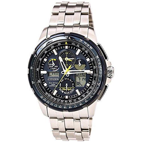 Citizen Watches JY8058-50L Eco-Drive Silver Tone One Size