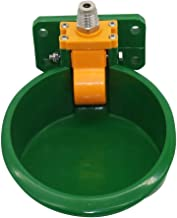 KLING'S 1 Pcs Sheep Pig Water Bowls Animals Drinking Touch Type Fountains Calf Bowl, Cattle Water Bowl - Sheep Feeders, Cow Water Bowls, Green Float Bowl, Automatic Horse Water Bowl