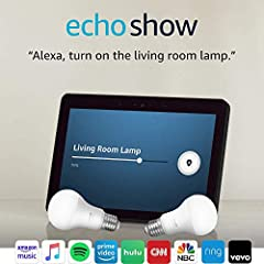 "Smart home made simple - To set up your free bulb, plug in and set up your Echo Show (2nd Gen) plug in your bulb, and ask, ""Alexa, discover my devices."" Premium speakers with Dolby processing let you stream music and books in crisp, stereo sound. Wit..."
