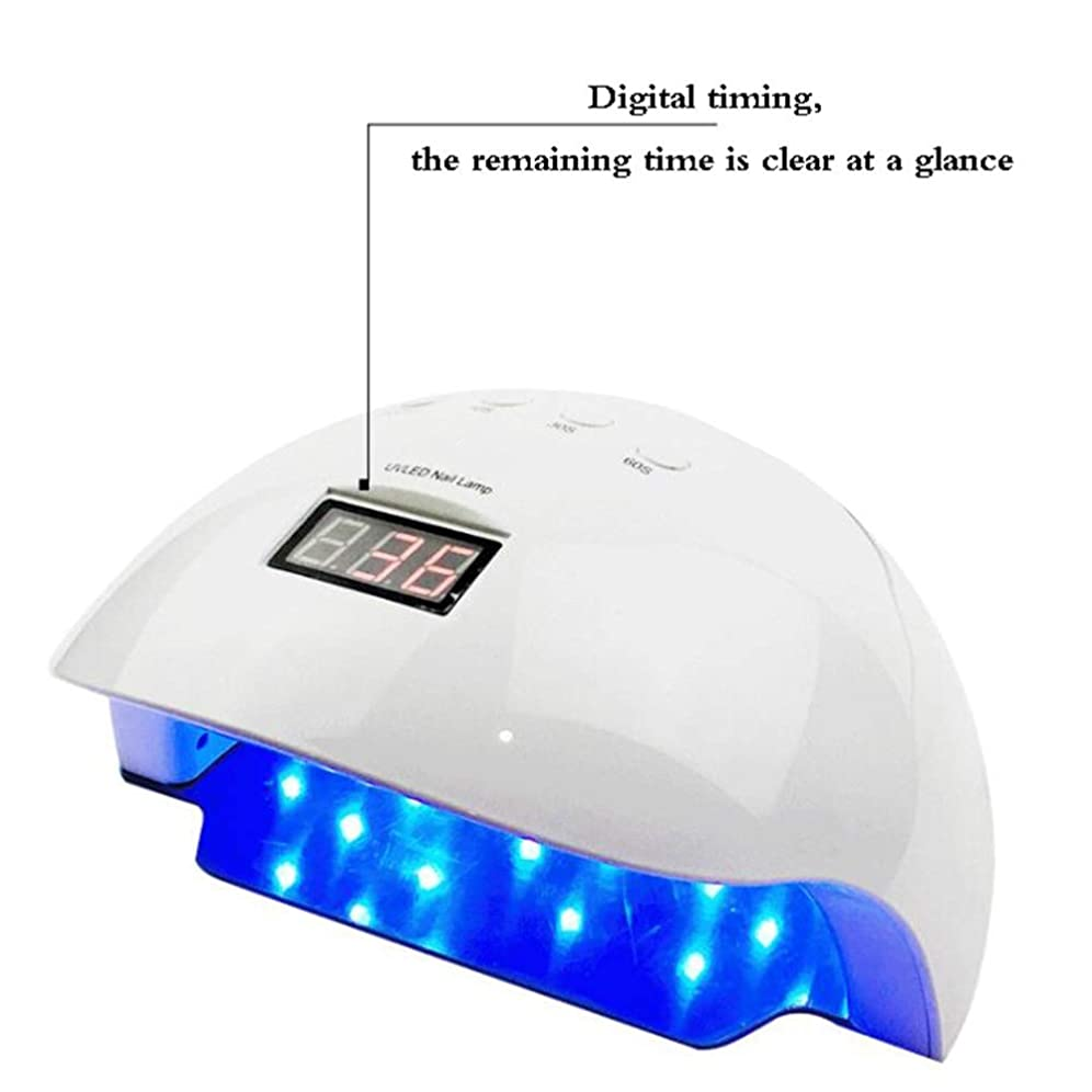 どれ新着等々Nwn ネイルランプネイル光線療法マシン、ネイル美容ツール、大容量のタイミング機能