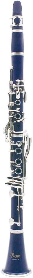 LADE Clarinet ABS 17 Key bB Flat Soprano Binocular Clarinet with ...