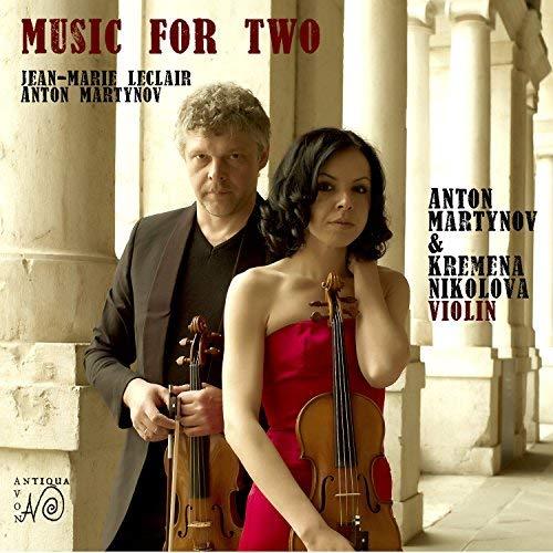 Martynov/Leclair: Sonaten für 2 Violinen / Barocksuite für 2 Violinen (Weltersteinspielung)