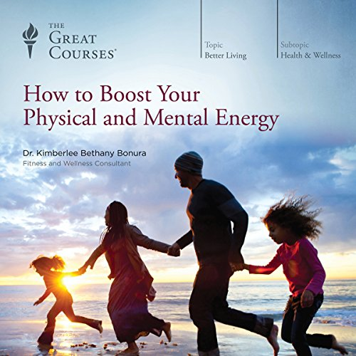 How to Boost Your Physical and Mental Energy audiobook cover art