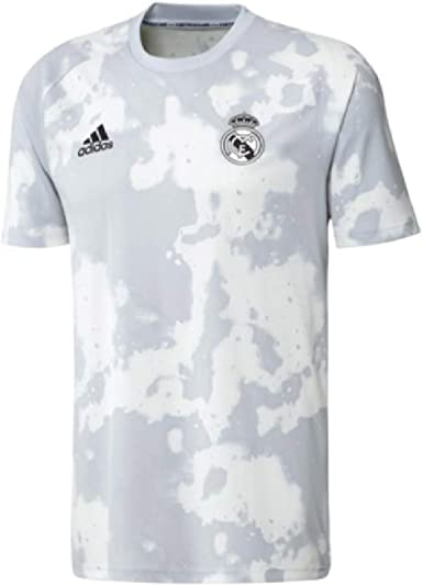 adidas 2019-20 Real Madrid Pre-Match Jersey - Grey-White