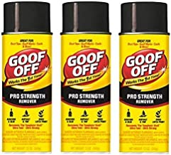 Goof Off FG658 Professional Strength Remover, Aerosol 12-Ounce (Thr?? ?ack)