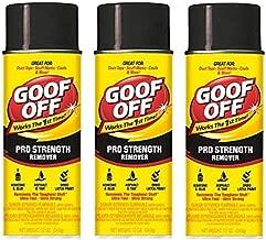 Goof Off FG658 Professional Strength Remover, Aerosol 12-Ounce (Thr?? ?ack)