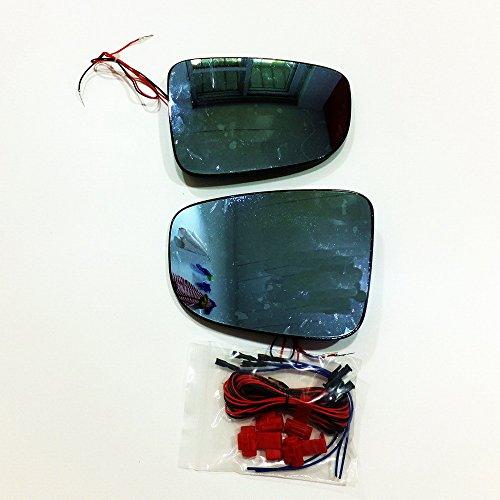 July King Objectif de rétroviseur Lens-M-Alexa-2014 pour M3 Axela 2014~on, Grand Champ de Vision, Miroir Bleu, Tournage, Démontage de Chaleur