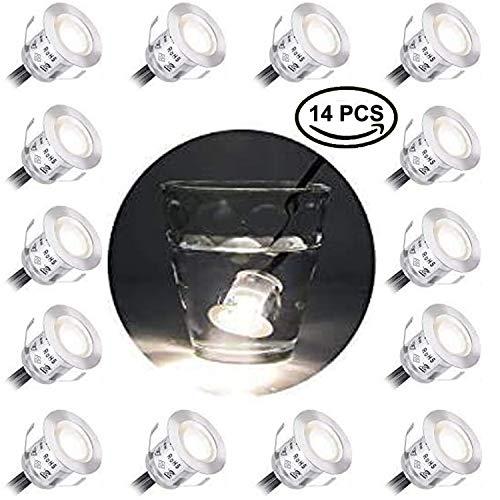 14 Piezas 9W Foco Empotrable LED Blanco cálido 3000K Focos Empotrables Techo...