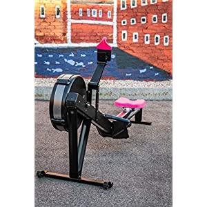 Pink Phone Holder and Silicone Seat Cover Combo Designed for The Concept 2 Rowing Machine and PM5 Monitor