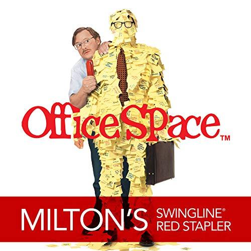 Swingline Stapler, Milton's Red Stapler from Office Space Movie, 646 Desktop Stapler Heavy Duty, 20 Sheet Capacity, For Office Decor, Desk Accessories & Home Office Supplies (64698) Photo #4