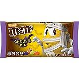 M&M'S Ghoul's Mix Milk Chocolate Halloween Candy, 10 Oz Bag, 10 Oz