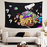 Tapestry Wall Hanging Home Decor Tapestries Colorful Wall Art Blanket for Living Room Bedroom Dorm Room 60 X 51Inch color3