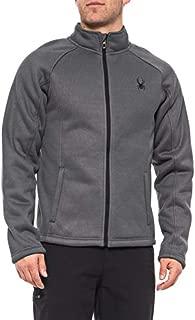 Spyder Men's Stellar Jacket Sherpa Lined Bonded Fleece