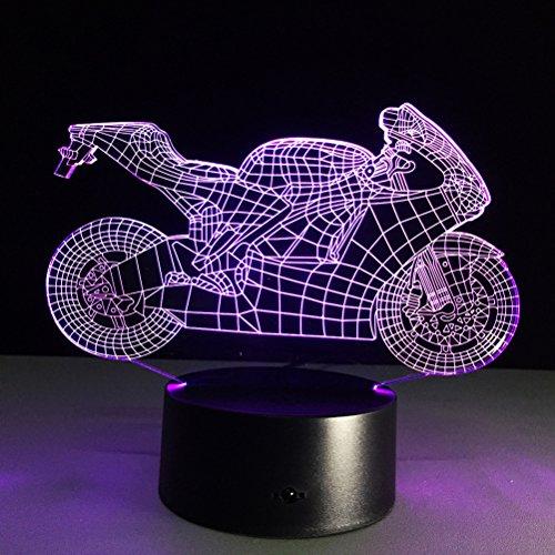 LEDMOMO Lampe d'illusion 3D en f...