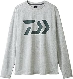 Daiwa Sale DE-8207 T Shirt Long Sleeve Gray Size L 228800
