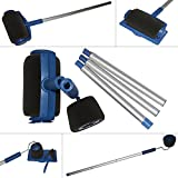Funmo Paint Runner Pro, rullo con serbatoio, strumento per angoli, pennello;set per dipingere le pareti di casa e in giardino