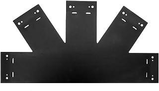 OZCO 56619 8:12 Truss Base Fan Plate, (1 per Pack)