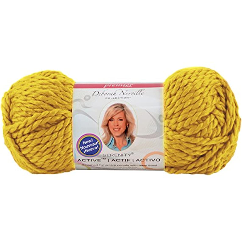 Premier Yarns Deborah Norville Serenity Active Yarn, Yellow