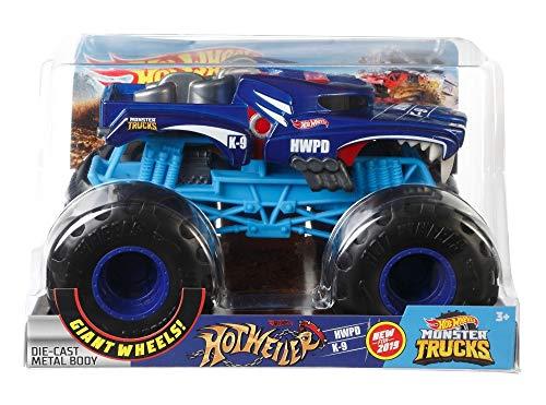 Hot Wheels Monster Trucks 1:24 Hotweiler Vehicle