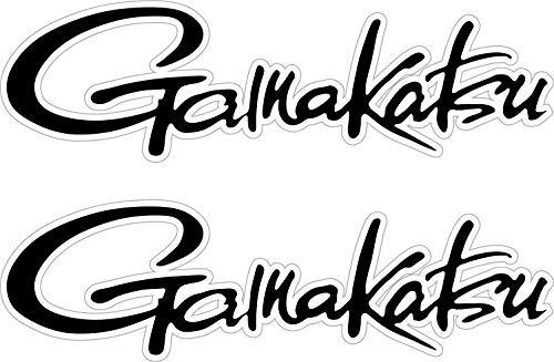 Bermuda Shorts Graphics 6' Gamakatsu Decal Pair Quality Decal Sticker Tackle Box Fishing Boat Truck Trailer