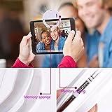 AUTOPkio Selfie Light Selfie Luz del Anillo, de 36 años aro de luz LED de iluminación Nocturna Selfie complementaria Mejora la Oscuridad de Fotografía para Smartphone