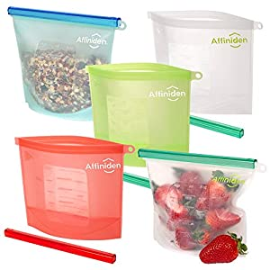 ECO-FRIENDLY! Our bags help you to GO GREEN by reducing your plastic use! NO plastic packaging and ZERO air miles! BPA FREE! Approved by the prestigious FDA and SGS, the bags are non-toxic and safe for food contact. These premium products are made fr...