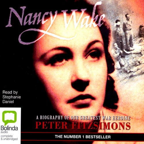 Nancy Wake audiobook cover art