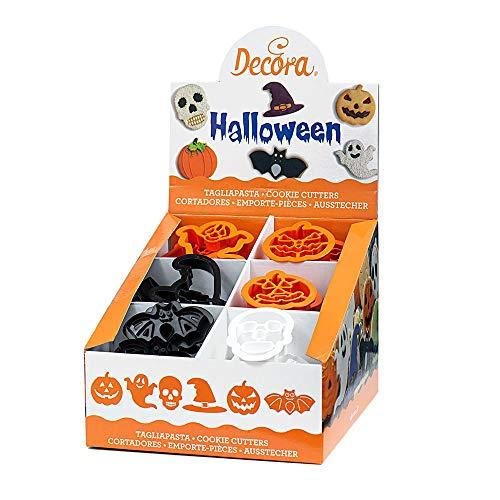 Decora 0256218 AUSSTECHER Halloween 2019 AUSSTELLUNGSDISPLAY 48-TLG, Plastic